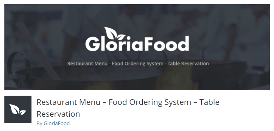 Restaurant Menu – Food Ordering System – Table Reservation by GloriaFood
