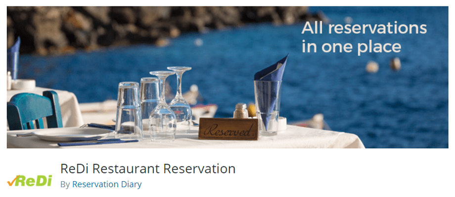 ReDi Restaurant Reservation by Reservation Diary