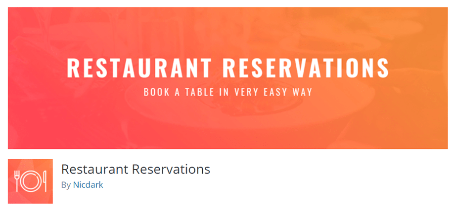 Restaurant Reservations by Nicdark