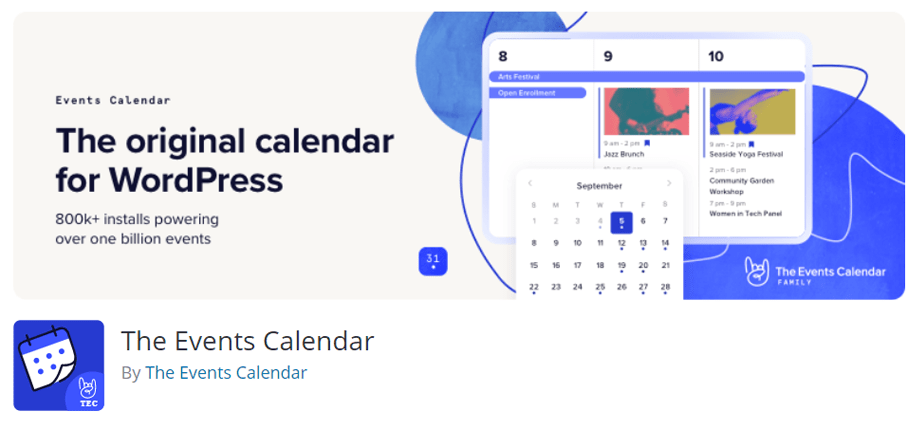 The Events Calendar By The Events Calendar