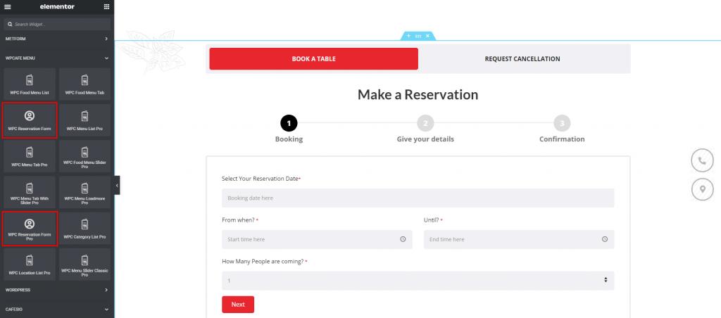 Design Restaurant Website with Elementor, Elementor food ordering, themewinter