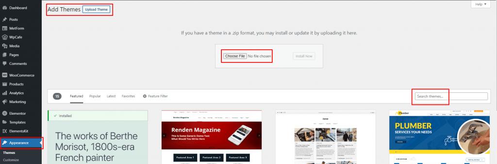 Design Restaurant Website with Elementor, themewinter
