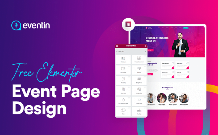 Design an Engaging Elementor Event Page with WP Eventin for FREE