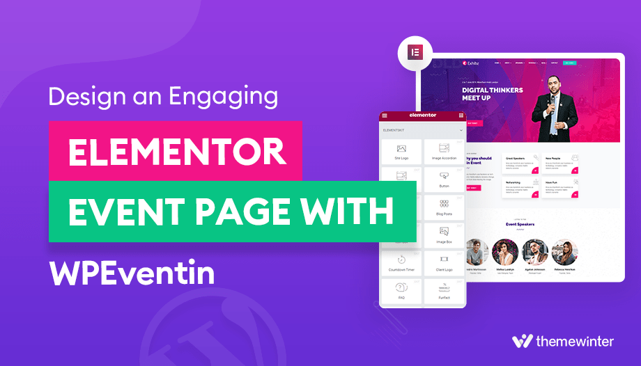 Design an Engaging Elementor Event Page with WPEventin