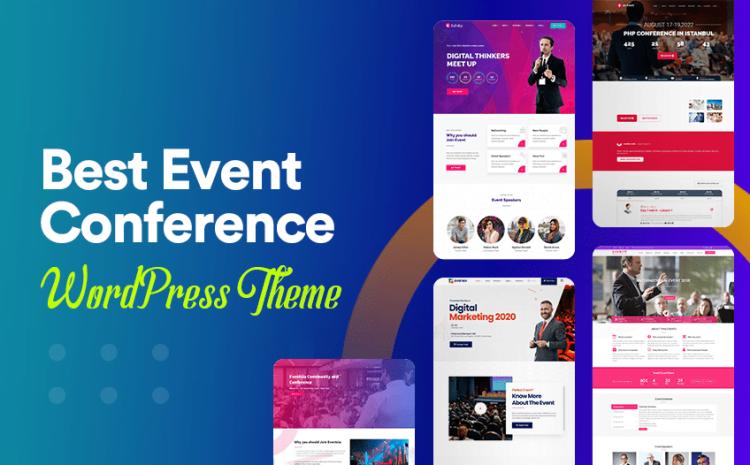 7 Best Event Management WordPress Themes (Data-Based)