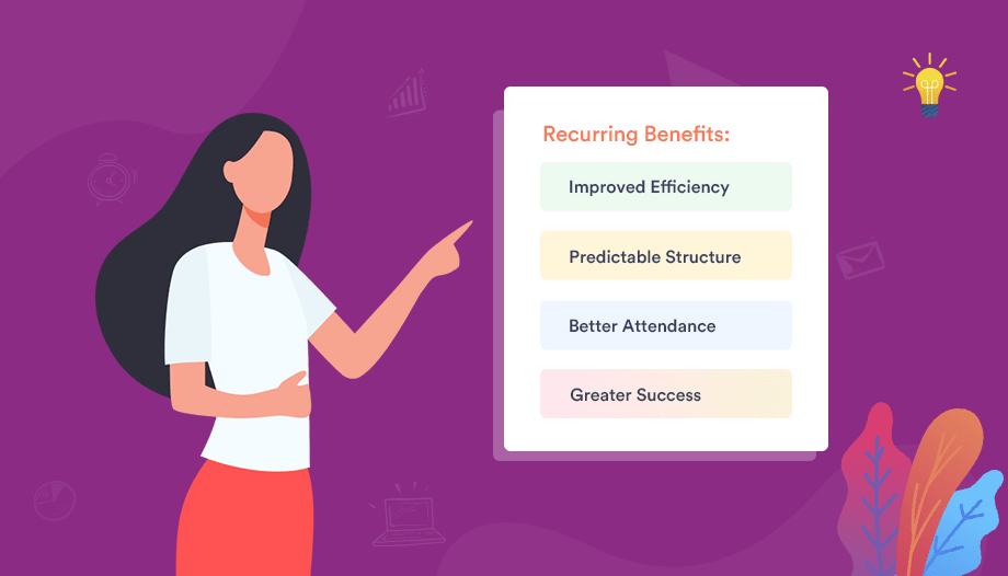 Benefits of Recurring Event by themewinter