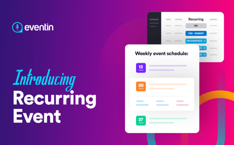 WP Eventin v2.5.0: Brings New WordPress Recurring Events Feature for Event Website