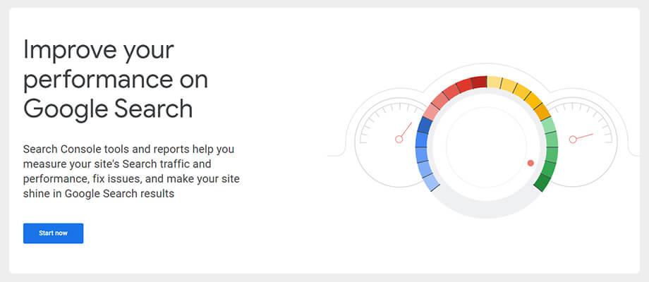 google search console website traffic check