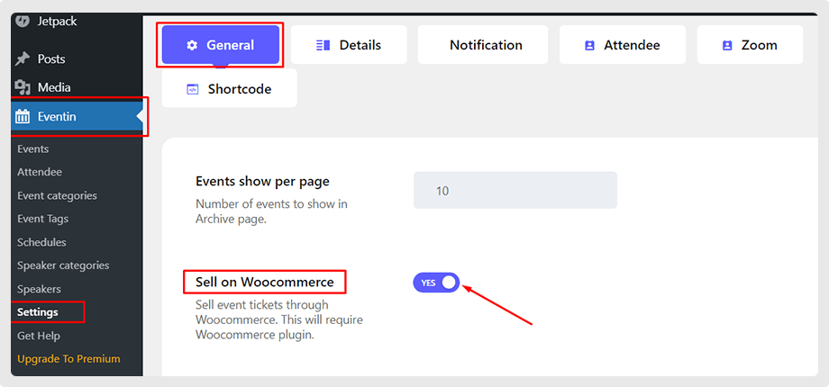 wp_eventin_enable_sell_on_woocomerce