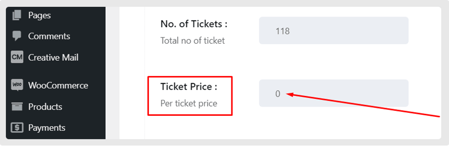 wp_eventin_ticket_price_zero